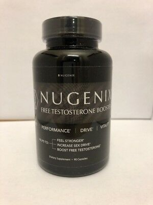 Nugenix Testosterone Booster 90 Capsules  Free Shipping