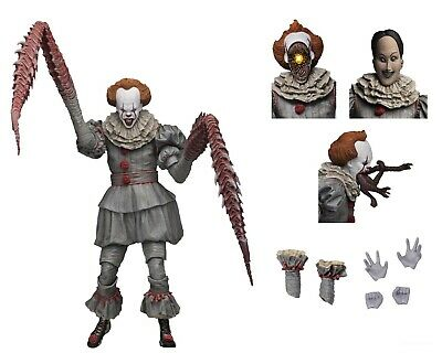 IT - 7 Scale Action Figure - Ultimate Pennywise The Dancing Clown 2017 - NECA