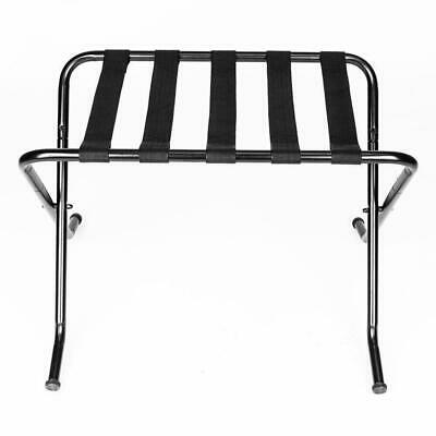 27x17x22 Portable Metal Travel Folding Luggage Suitcase Holder Rack Stand Home
