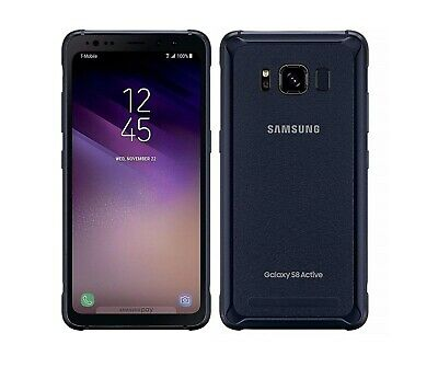 Samsung Galaxy S8 Active 64gb Meteor Gray AT-T Unlocked Fully Works Discounted