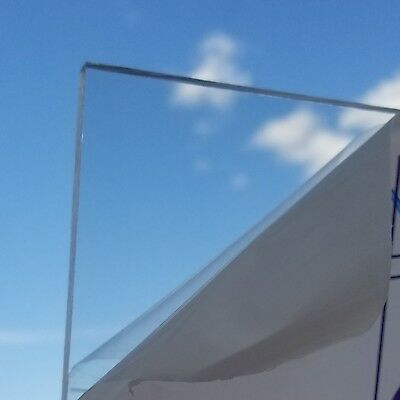 Sibe-R Plastic Supply℠ POLYCARBONATE GP CLEAR PLASTIC SHEETS 18 THICK