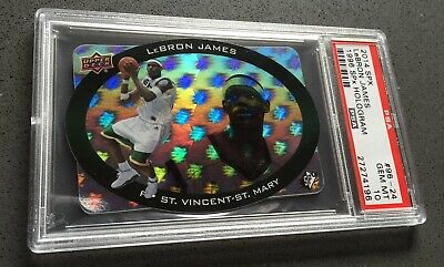 2014 SPX HOLOGRAM LEBRON JAMES PSA 10 POP 4 SICK CARD LOOK 🔥🔥🔥