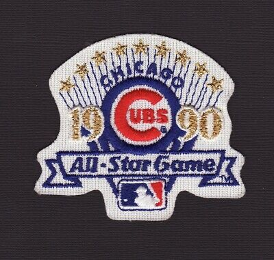 Chicago Cubs 1990 All Star Baseball Game Embroidered Patch Vintage