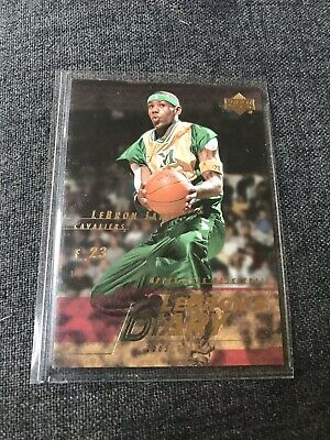 LeBRON JAMES 2003-04 Upper Deck LeBron's Diary LJ4 NMMT Card Cavaliers Rookie