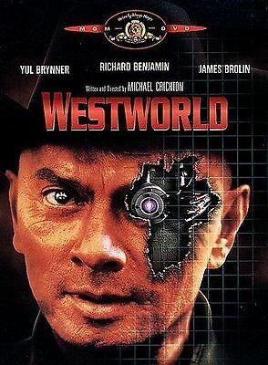 Westworld DVD1998from 1973Mint with InsertRare OOPYul BrynnerSame Day Shp