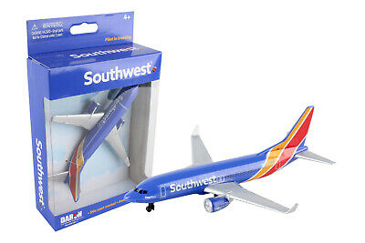 SOUTHWEST AIRLINES MINIATURE AIRPLANE DARON TOYS DIECAST NIB 5 Wingspan RT8184