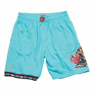 Mens Mitchell - Ness NBA Road Swingman Shorts Grizzlies 96-97