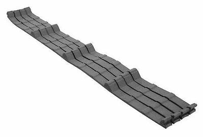 34 Tall Inner Closure Strip Foam for Metal Roofing With Glue 100 Stripsbox
