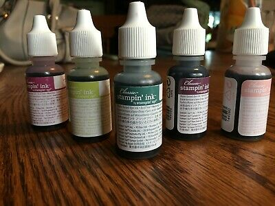 Stampin Up Classic Stampin Ink Refills - 2017-2019 IN COLORS - CHOOSE 1 - NEW