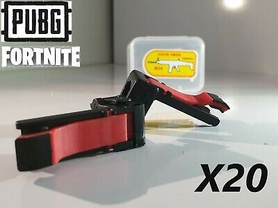 PUBG FORTNITE Mobile Phone Gaming Trigger Fire Button Controller HOT 20X Pairs