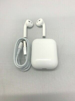 Apple AirPods 2nd Gen- Wireless Earbuds White Right  Left  Charging Case Only
