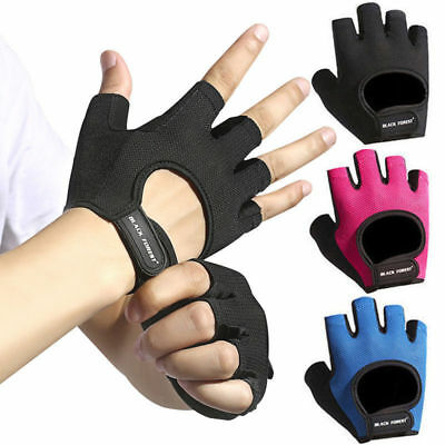 Sports Fitness Gym Gloves Men Women Weight Lifting Bodybuilding Training Workout