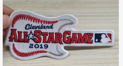 2019 MLB ALL STAR GAME PATCH Cleveland Baseball Embroidered Guitar IRON ON