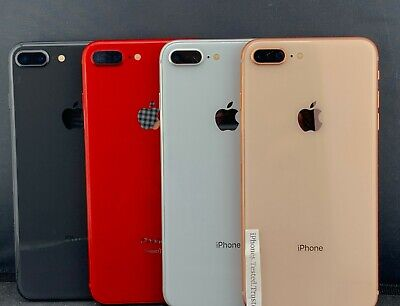 Excellent Apple iPhone 8 Plus AT-T 64GB 256GB Space Gray Silver Gold Silver
