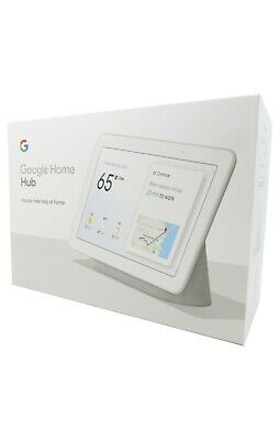 Google Home Hub with Google Assistant Chalk GA00516-US New in Retail