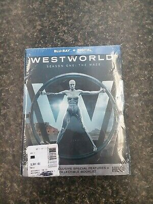 Westworld Season 1 Blu-Ray - Digital Copy FREE SHIPPING