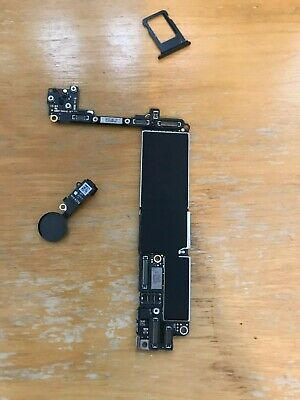Apple iphone 7 128gb matt black unlocked logic board Gsm