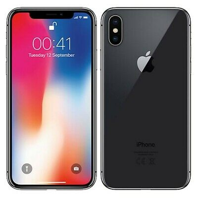 iPhone X 256g Verizon Unlocked with Charging Case