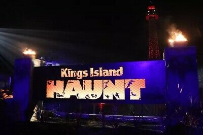 4 Four Tickets to Kings Island Halloween Haunt  Fast Shipping  Low Price
