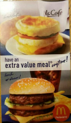 5x - McDonalds Free Extra Value Meal Combo - Great Savings