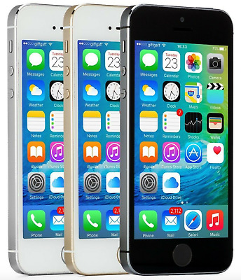 Apple iPhone 5S 16GB 32GB 64GB 16 32 64 Factory Unlocked AT-T T-Mobile Sprint