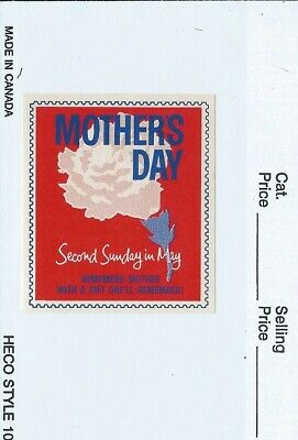 Mothers Day Poster Stamp Cinderella Second Sunday in May