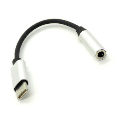 USB-C Type c To 3.5mm Audio Aux Cable Adapter Headphone Jack For Samsung Macbook