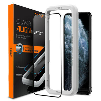 iPhone 11 11 Pro 11 Pro Max Glass Screen Protector Spigen®AlignMaster 2 PK