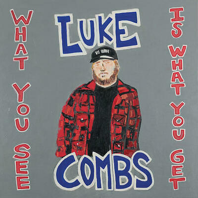 Luke Combs What You See Is What You Get Audio CD 11819 RELEASE BRAND NEW