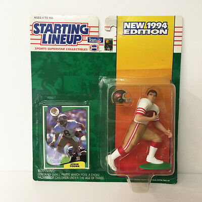 1994 Steve Young 49ers Starting Lineup Figure NFL Kenner NIP unopened NEW