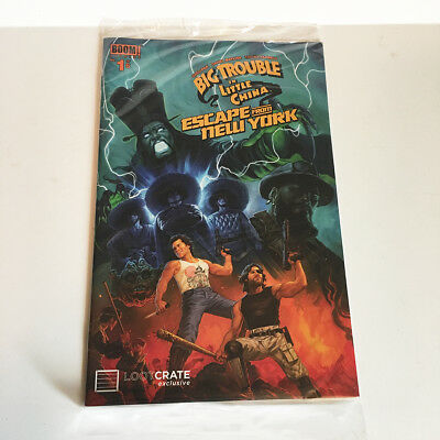 Big Trouble In Little ChinaEscape From New York 1 - Loot Crate Comic