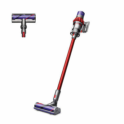 Dyson V10 Motorhead Cordless Vacuum Cleaner  Red  Refurbished