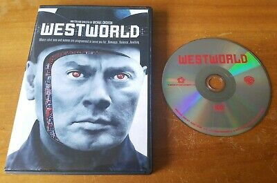 Westworld DVD Widescreen original 1973 Michael Crichton movie film Yul Brynner
