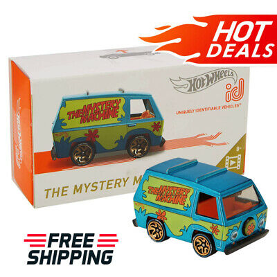 Hot Wheels ID Cars The Mystery Machine Racing Vehicle Kids Toys NEW