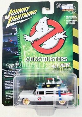Johnny Lightning 164 1959 Cadillac Ambulance Ghostbusters Ecto 1 JLSS006 Chase