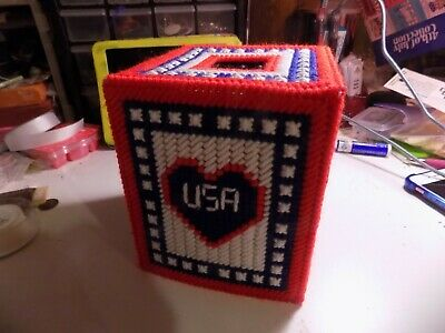 4th of July Boutique Tissue Cover