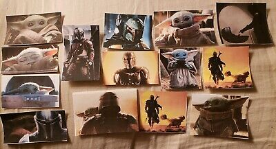 Mandalorian Baby Yoda Sticker set