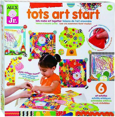 Kids Art and Craft Activity Supplies-Girls Boys Gift Learning Color -Texture Kit