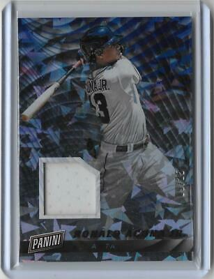 2019 Panini Cyber Monday RONALD ACUNA JR CRACKED ICE JERSEY RELIC 16 BRAVES 25