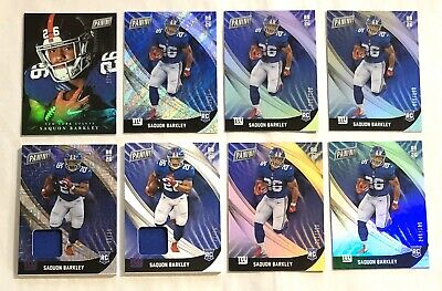 2018 Panini Black Friday SAQUON BARKLEY Rookie Football Card Lot NY Giants NFL