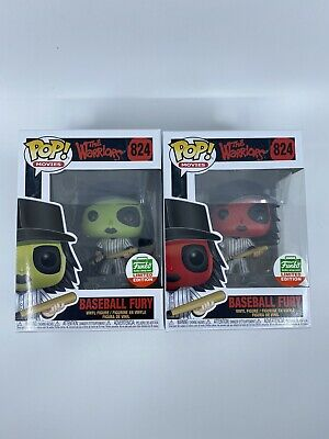 Funko Pop The Warriors Baseball Fury Red Green Cyber Monday Bundle Holiday Shop
