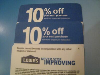 5X home depot 10 OFF exp 61520 Lowes coupon ONLY WORKS  COMPETITOR