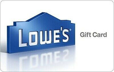 100 Lowes Gift Card