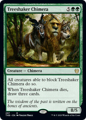 x1 Treeshaker Chimera - Theme Booster Exclusive MTG Theros Beyond Death R MNM