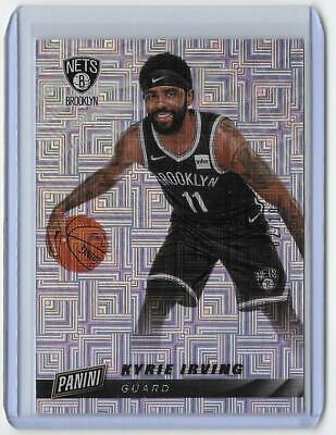 2019 Panini Cyber Monday KYRIE IRVING ESCHER SQUARES PARALLEL 2 NETS 10