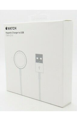 Apple Watch Magnetic Charger to USB Cable 2m for Series 1 2 3 4 5 6 SE MU9H2AMA