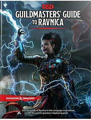 Dungeons - Dragons Guildmasters Guide to Ravnica by Wizards RPG Team