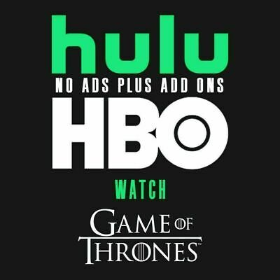 Hulu Premium - HBO - No Ads -  2 Years  5 Sec Delivery