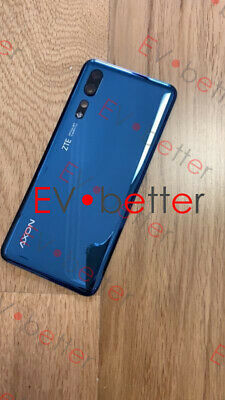 CN For 6-47 ZTE Axon 10 Pro 4G Back Cover Replacement Blue