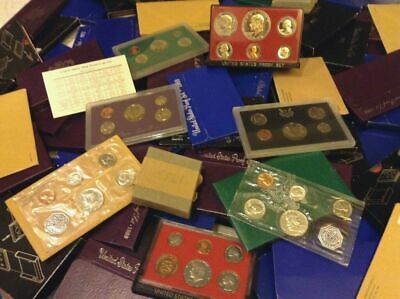 1953-2020 Proof Type Set ALL 14 Coins P S W Mint BoxCOA BIG ESTATE SILVER HOARD